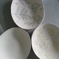 Large Dome Plate Set
