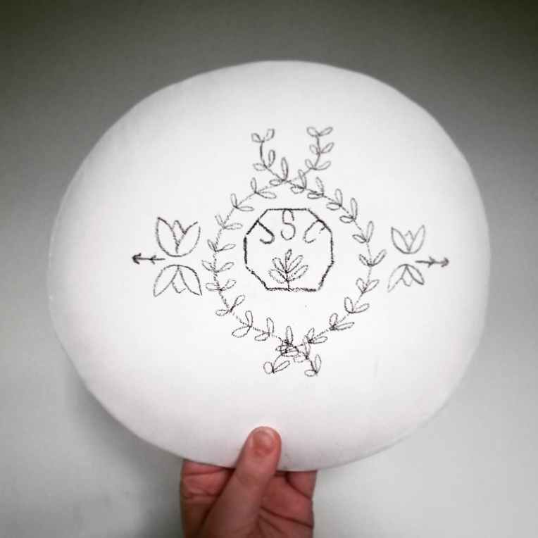 Large Dome Plate Back