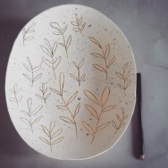 Large Dome Plate